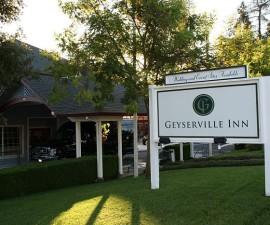 Geyserville Inn Entrance