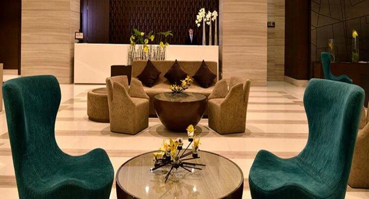 Lobby at Aetas Lumpini