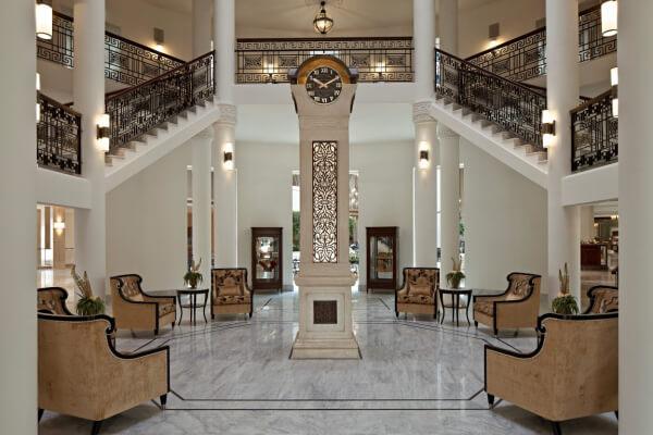 Rotunda of Jerusalem luxury hotel