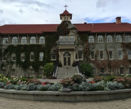 St. Eugene Resort once housed an aboriginal residential school.
