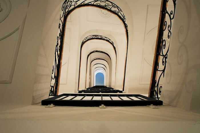 Stairwell at the Dear Hotel in Madrid, Spain (Photo courtesy of the Dear Hotel)