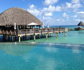 Romance on Rangiroa at the Kia Ora Resort & Spa