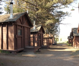 Rough Rider Cabins in Yellowstone National Park