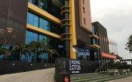 OUtside Royal Lotus Hotel Halong