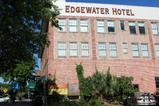 bygone days edgewater hotel winter garden fl
