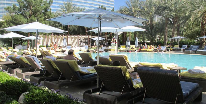 aria sky suites, sky pool, las vegas pool, aria sky pool