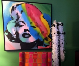 The Warhol Suite, Heathman Hotel, Portland, Oregon