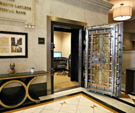 Hilton St. Louis bank vault