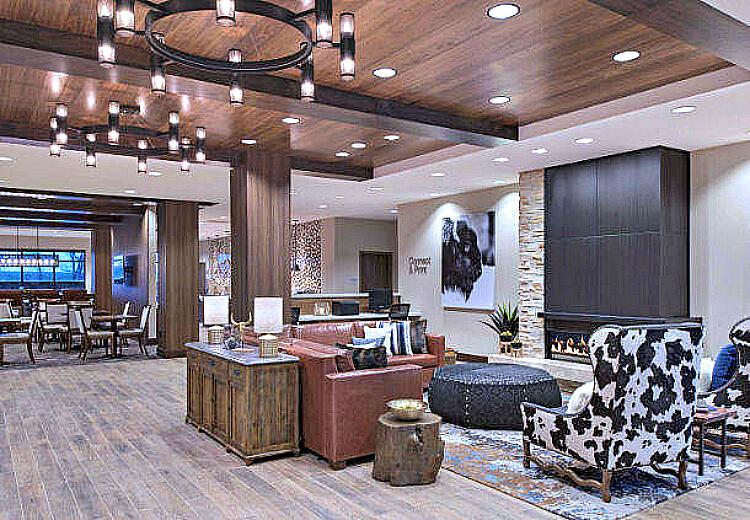 Fairfield Inn Suites Lobby Print1