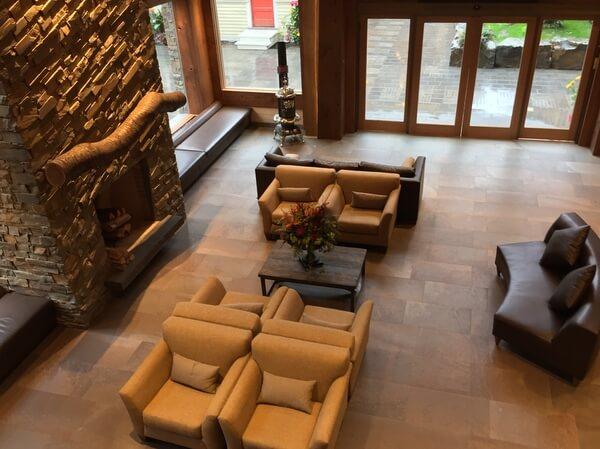 Lobby, Moose Hotel, Banff Alberta Canada