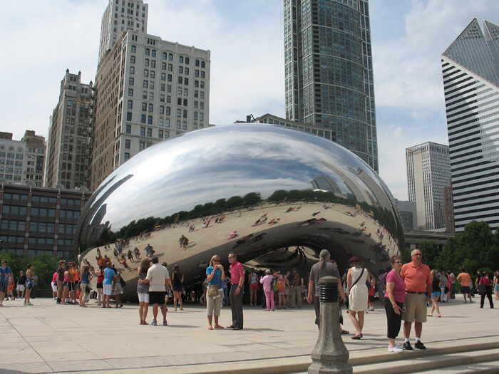 Cloud Gate (aka The Bean)