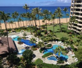 Pool and grounds, Ka'anapali Ali'i Resort, Maui, Hawaii