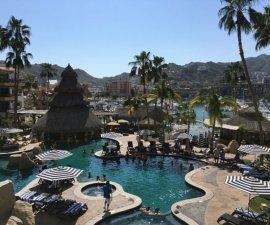 Marina view from Marina Fiesta Resort & Spa