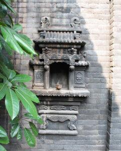 Inner courtyard of Pingyao Yiguan Inn