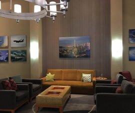 Lobby At Holiday Inn Oakland Airport
