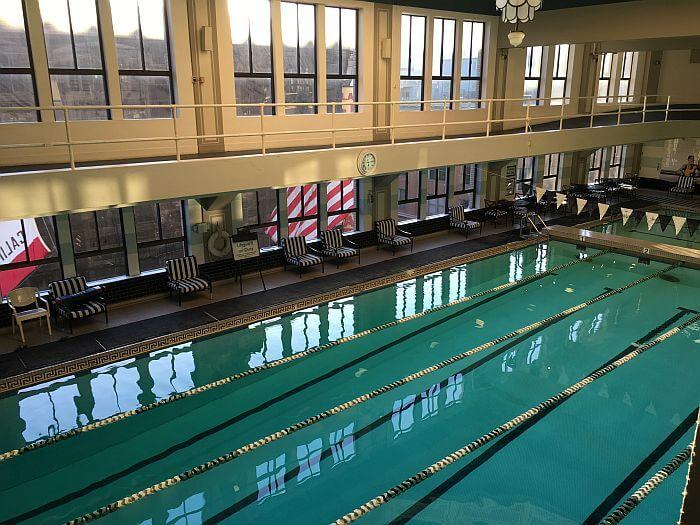 Indoor LAAC pool