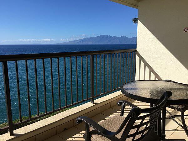 Sheraton Maui guestroom view