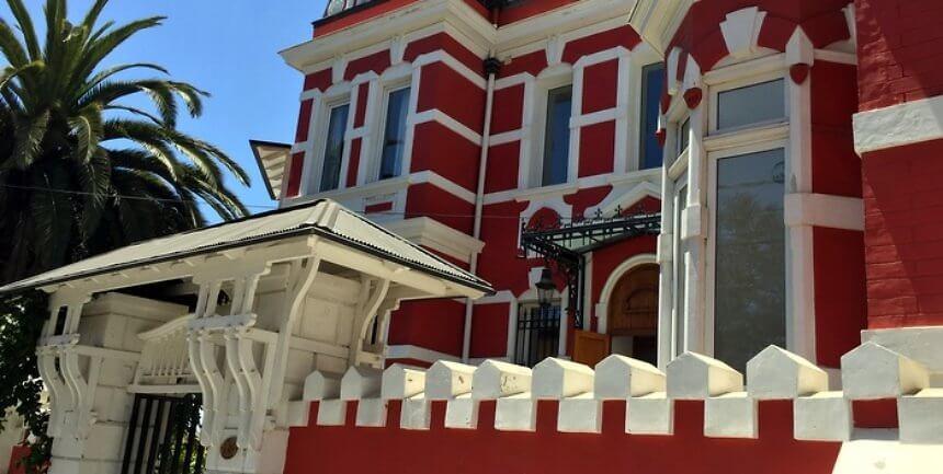 Exterior, Palacio Astoreca, Valparaiso, Chile