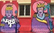 Street art near Palacio Astoreca, Valparaiso, Chile