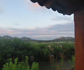 backyard view from Villas de Palermo Hotel & Resort