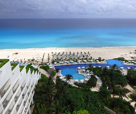 View from Live Aqua Cancun resort