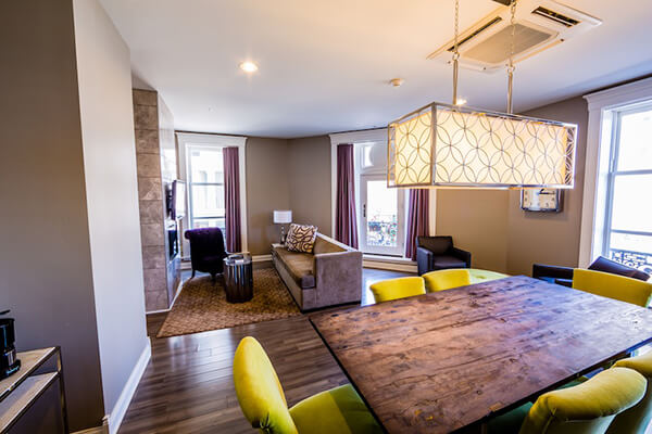 Hotel lafayette 39 s incredible feminist roots for The family room buffalo ny