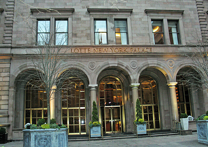 Lotte New York Palace Hotel, New York City