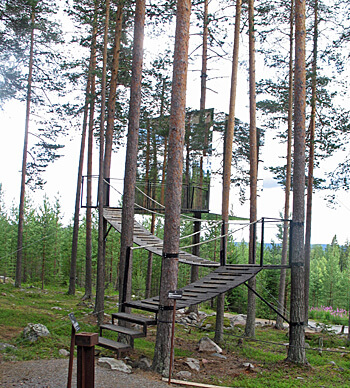 Mirrorcube at Treehotel, Sweden (Photo by Susan McKee0