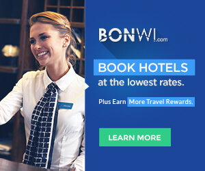 better hotel rewards with Bonwi.com