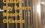 With decor harkening back to Flordia's roadside motels of Florida in the 1950-60s, the Cabana Bay Beach Resort is a step back in time with retro-style rooms and family-friendly prices.