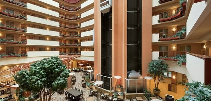 Embassy Suites Atrium in Omaha