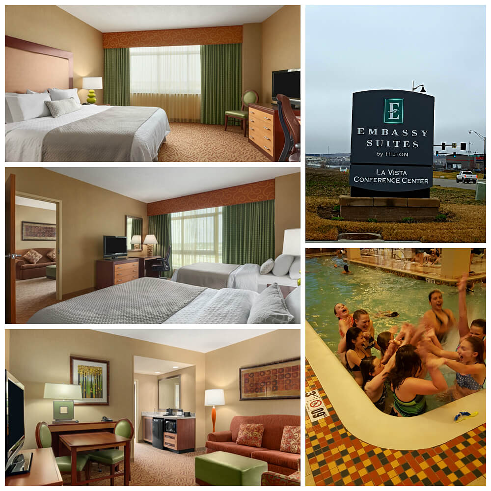 Family and budget friendly Embassy Suites by Hilton Omaha La Vista Hotel & Conference Center