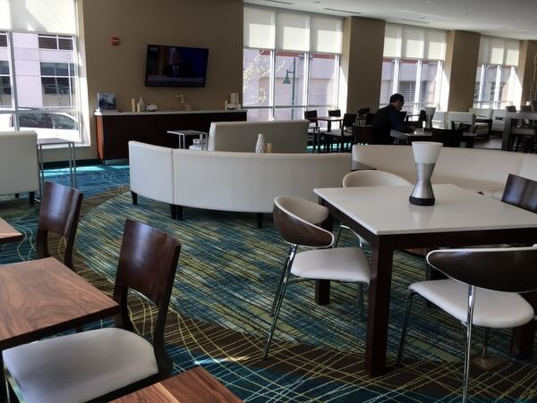 Lobby, SpringHill Suites Bloomington, Indiana