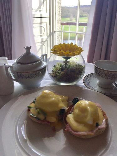 eggs benedict, irish breakfast, mount juliet, the lady helen restaurant, kilkenny, ireland