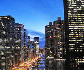View from LondonHouse Chicago