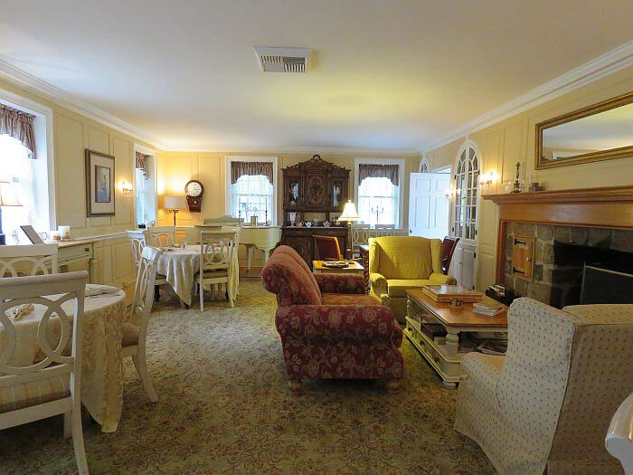 Campbell House dining room