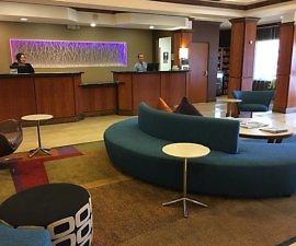 Fairfield Inn & Suites Twentynine Palms-Joshua Tree National Park lobby
