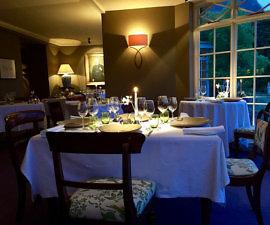 dining room, gregans castle, county clare, the burren, ireland