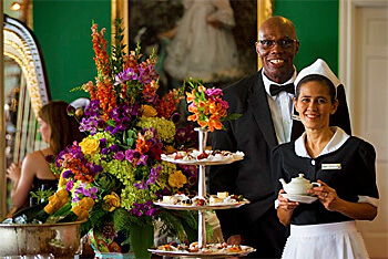 Afternoon Tea, The Grand Hotel, Mackinac Island, Michigan (Photo courtesy of The Grand Hotel)