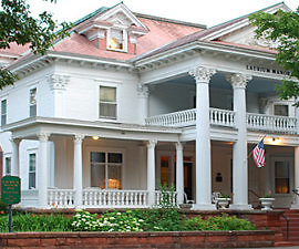 Laurum Manor Inn, Laurium, Michigan (Photo courtesy of Laurium Manor Inn)