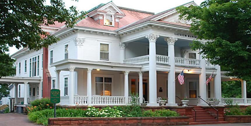 Laurum Manor Inn, Laurium, Michigan (Photo courtesy of Laurium Manor Inn)