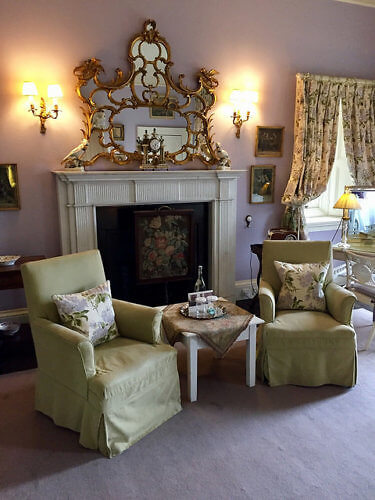 castle leslie, mauve suite, hotel suite, hotel room, county monaghan, ireland