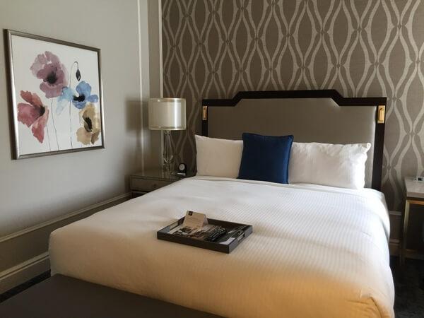Guest room, Fairmont Empress Hotel, Victoria, BC Canada