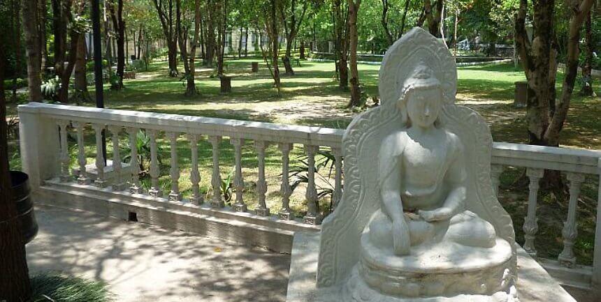 Park Village Resort grounds Kathmandu