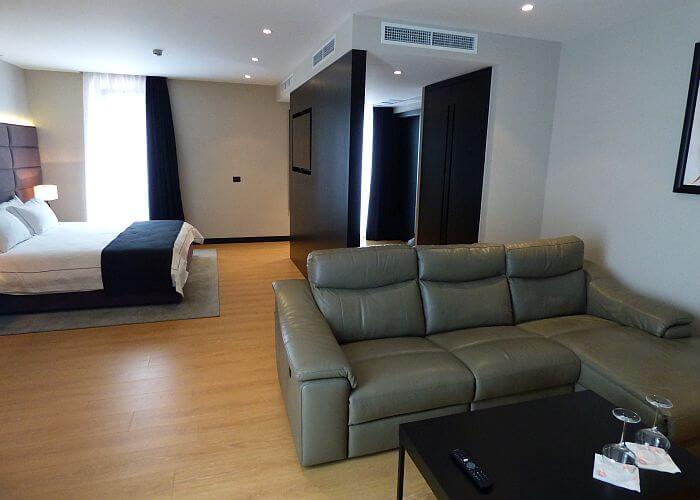 Boutique Tirana hotel suite