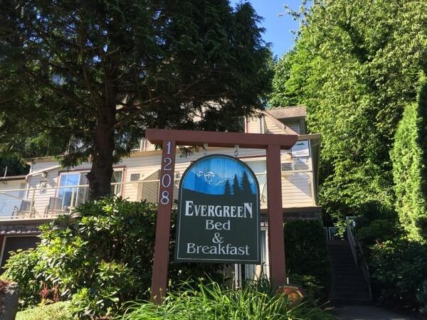 Evergreen B&B, Hope, BC, Canada