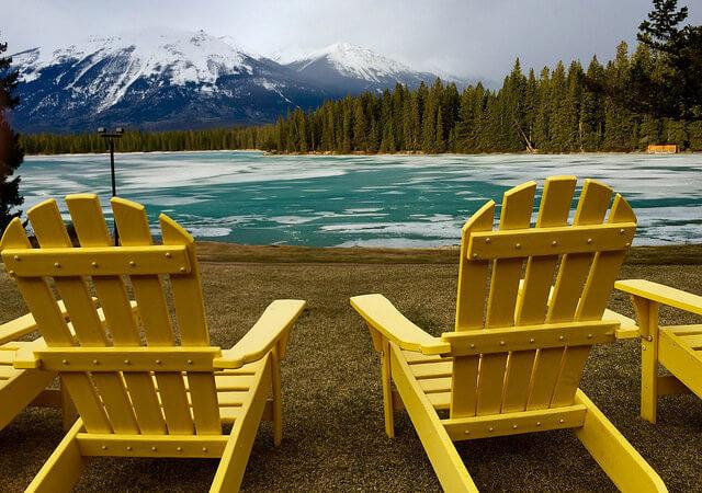 lac beauvert, jasper park lodge, jasper national park, alberta, canada
