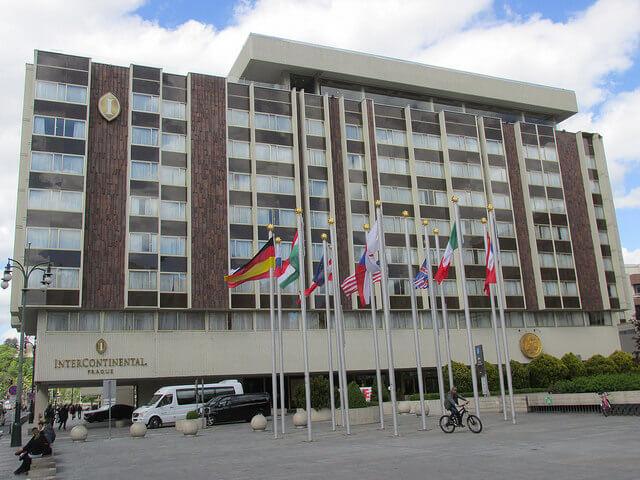 intercontinental prague, intercontinental hotel, prague hotel, prague business hotel