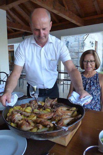 Sac dinner at Gostonica Zavala