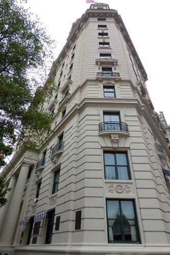Willard Hotel Intercontinental near the Whilte House on Pennsylvania Avenue, Washington D.C.